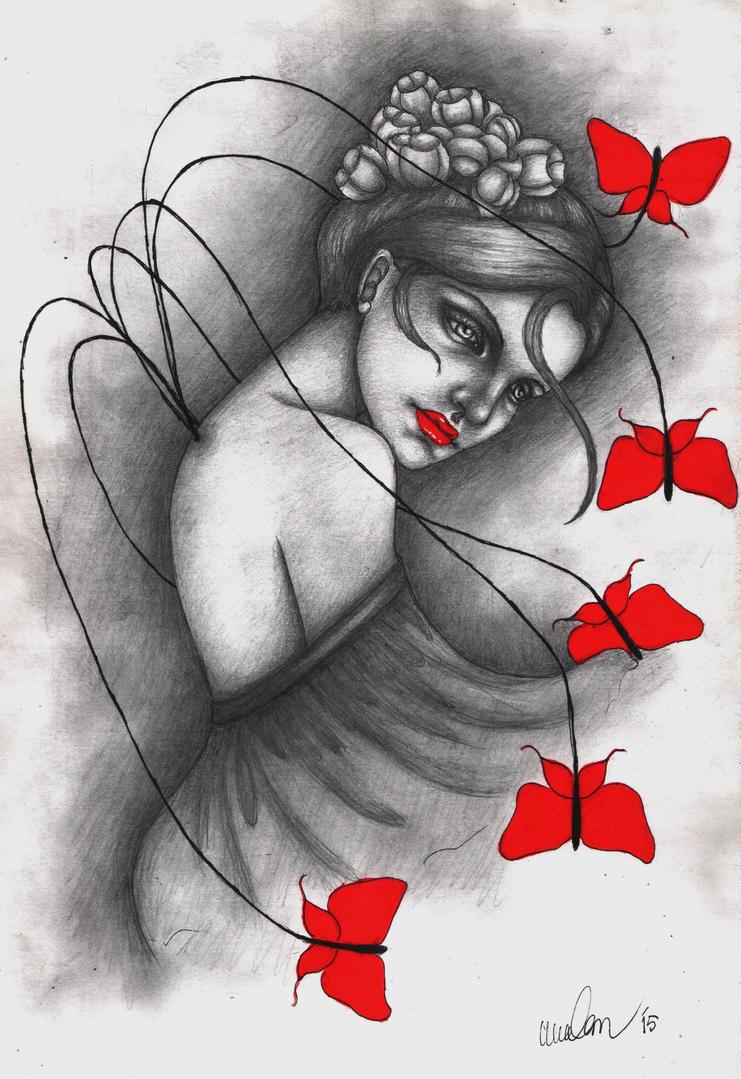 Broken Butterfly by Bdellian
