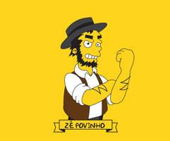 Ze Povinho Simpsonized by capdevil13