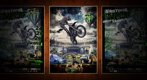 Extreme Village Sport Challenge Poster