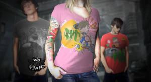 No Panic T-Shirts Illustrations