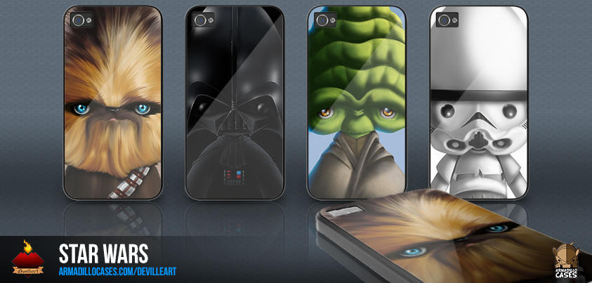 Star Wars Gadget Cases