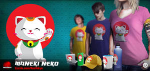 Maneki Neko by capdevil13