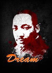 Martin Luther King, Jr. by capdevil13