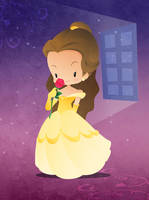 Disney Princesse Belle by capdevil13