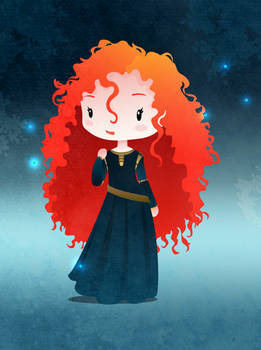 Disney Princesses Merida