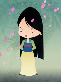 Disney Princesses Mulan