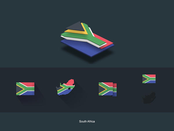 Flat Flags South Africa
