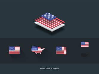 FlatFlags USA