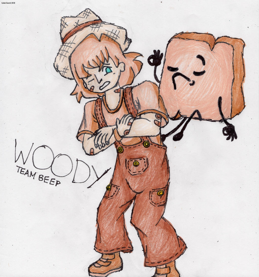 Human Woody, BFB by CalebSketch on DeviantArt