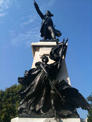 Rochambeau and the Goddess Nike by 44NATHAN