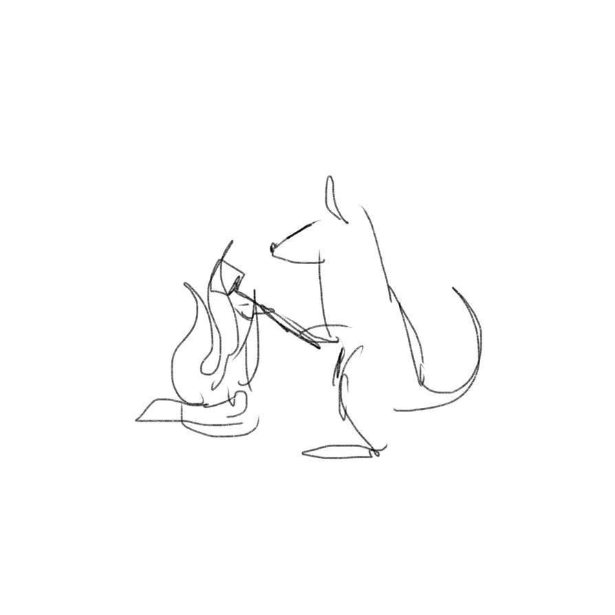 kangaroo_roasting_a_marshmallow_by_frygi