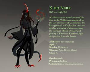 Profile: Kiun Narx [Khimaer]
