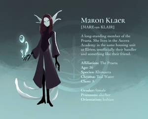 Profile: Maron Klaer [Khimaer]