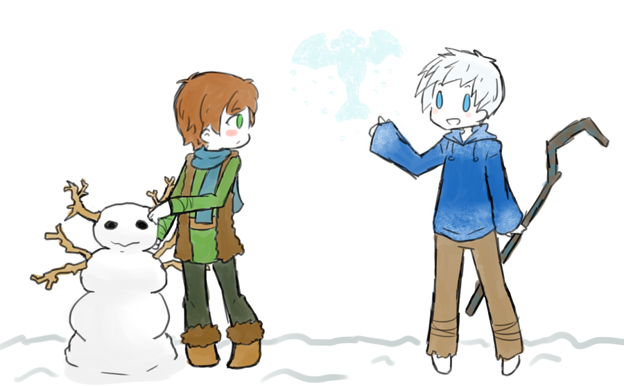 Hiccup And Jack Frost By Ameiliaketchum On DeviantArt
