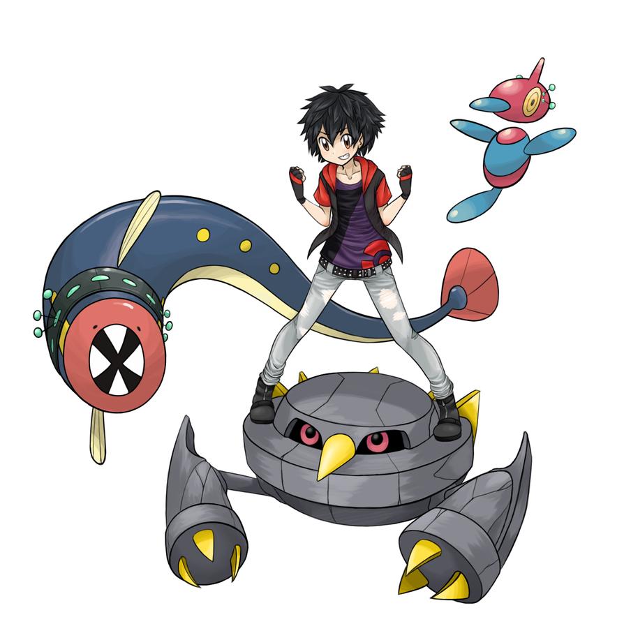 Pokemon Trainer: Hiro Hamada by ameiliaketchum
