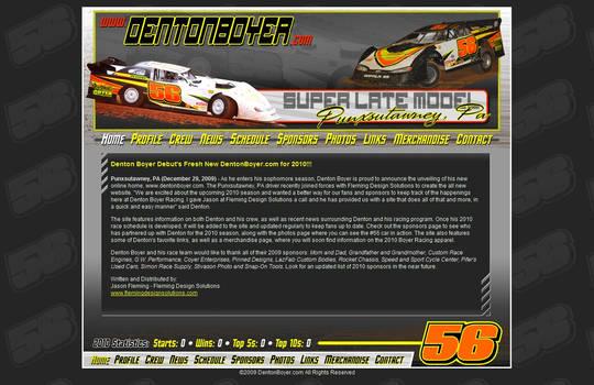 Denton Boyer 2010 Website