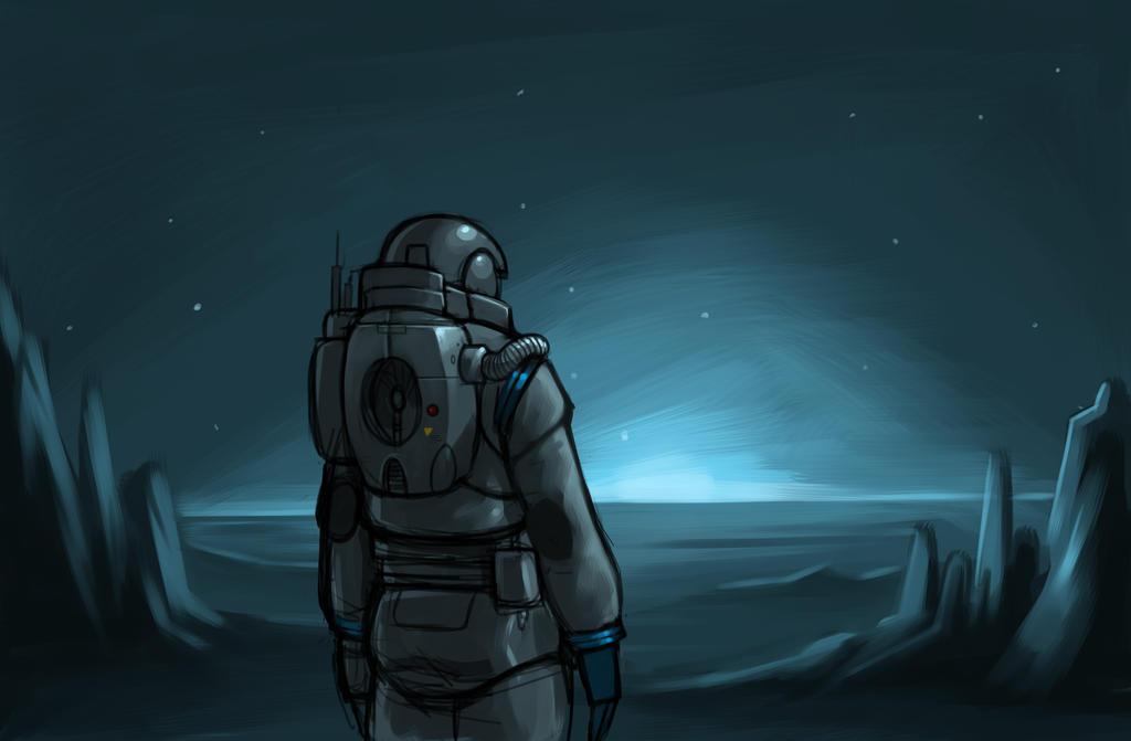 Spaceman by Altod