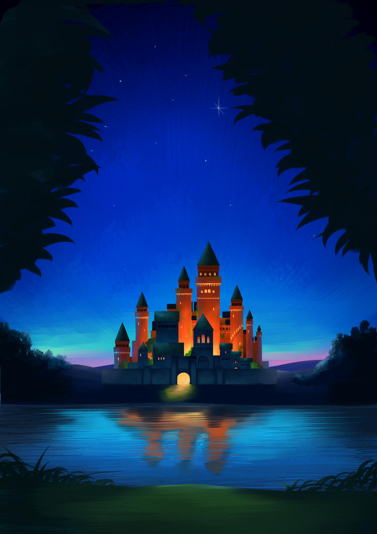 Orange Castle by Altod