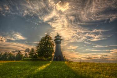 The Hagberg Tower by xXseadragonXx