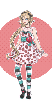 Sweet dress for Kevinne
