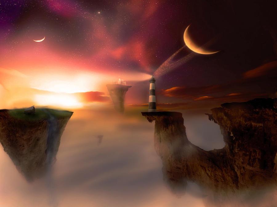 Sky Island by TheSpaXx