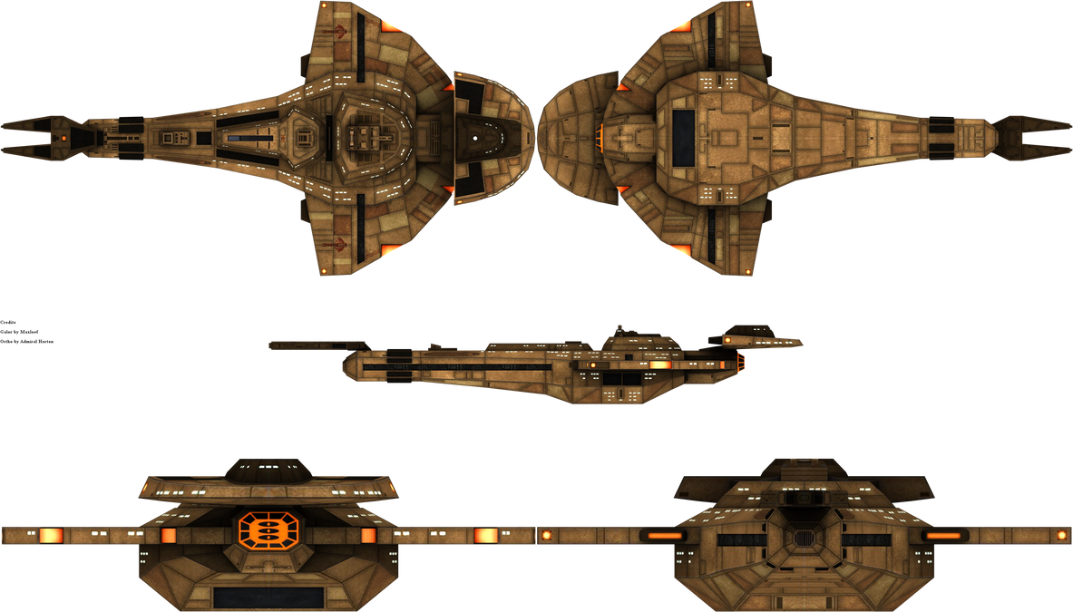 Galor Class Type 1 by admiral-horton