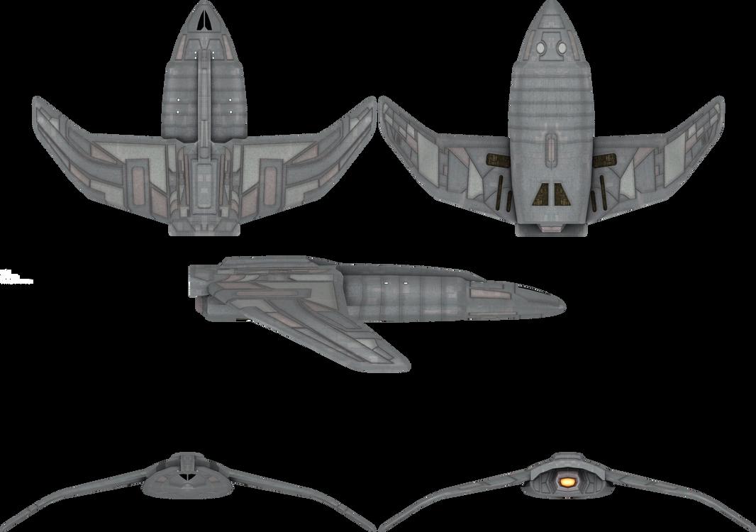 Bajoran Impulse Ship by admiral-horton