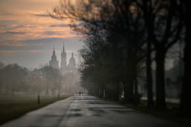 Morning in Krakow by jfb