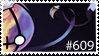 Chandelure stamp by NinjaCookieNya
