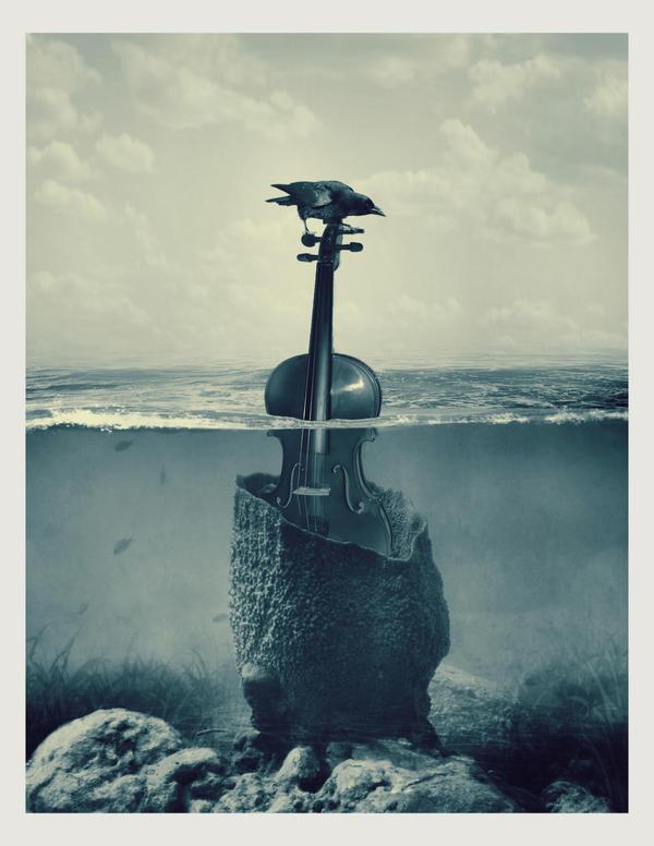 melancholic island by beyzayildirim77