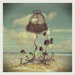 mushroom nest by beyzayildirim77