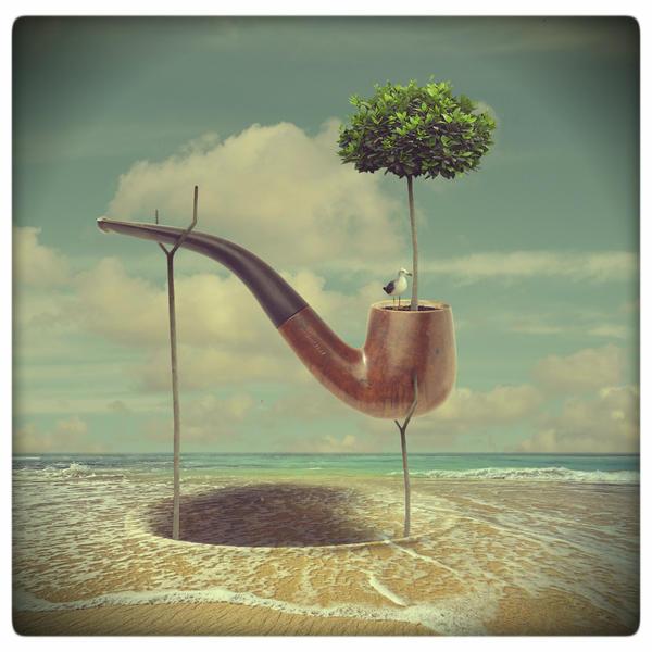 Dali's pipe by beyzayildirim77