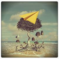 paper bird by beyzayildirim77