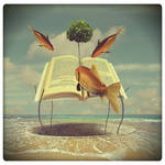 library beach by beyzayildirim77
