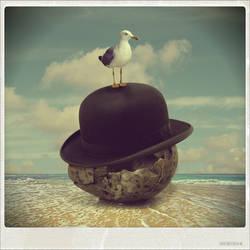 The ''Godfather'' Seagull by beyzayildirim77