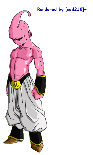 Kid buu render by ceil210 on deviantart kid buu render by ceil210 thecheapjerseys Image collections
