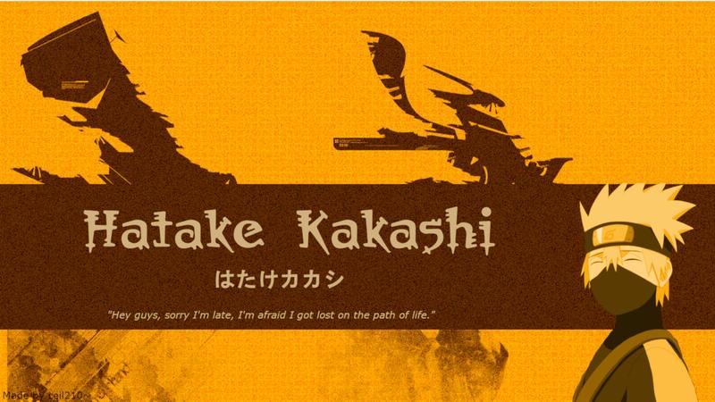 Hatake Kakashi by ceil210