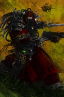 Yilne, the Adeptus Mechanicus. by E-Mance