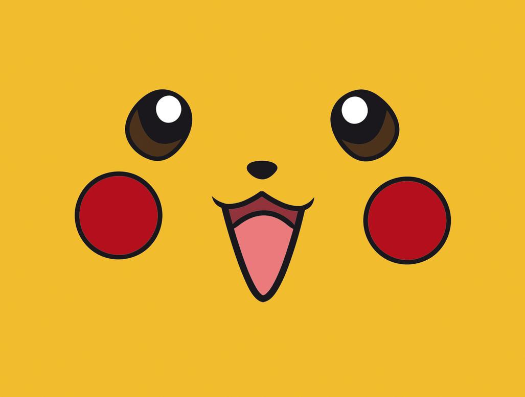 Pikachu Face Wallpaper by WaddleDooPikachu Face Wallpaper