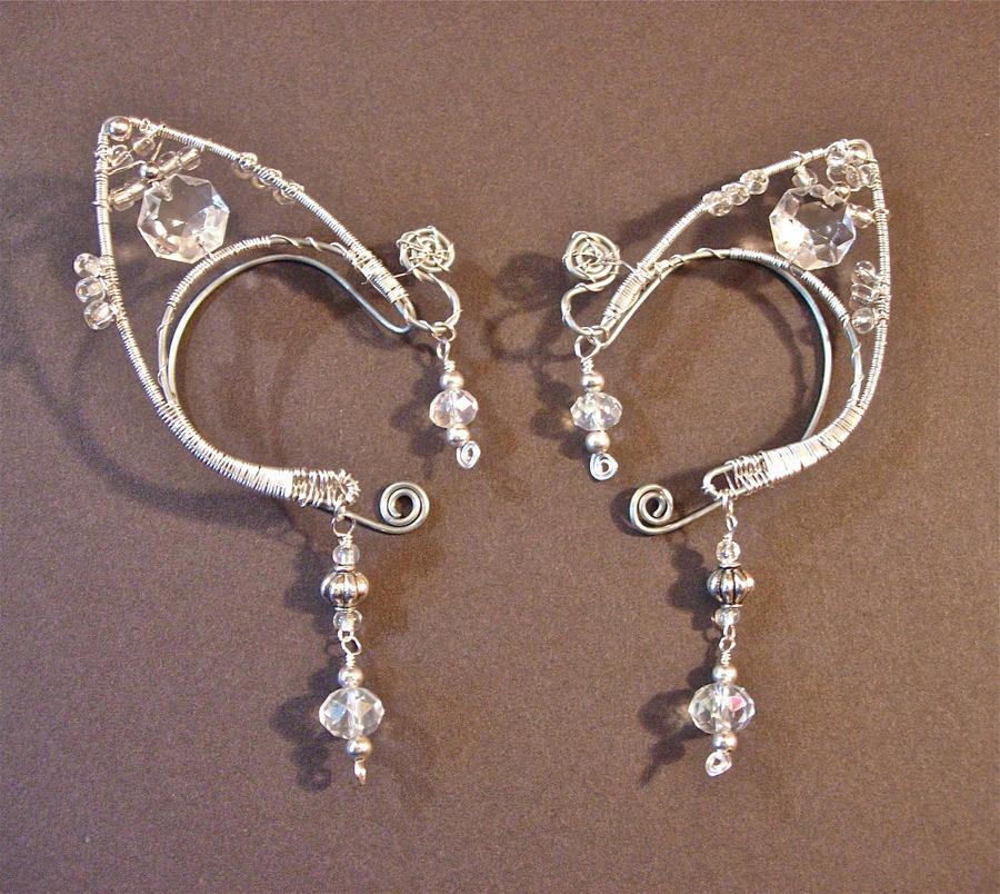 Custom order ear cuffs by jhammerberg