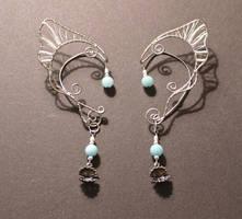 Custom Order Mermaid Ear Wraps