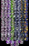 Mewtwo Sprites V13 + Armor + Back by dominekkas