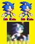 Sonic The Hedgehog I Proto Sprite by dominekkas