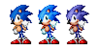 Sonic The Hedgehog Sprite V2 by dominekkas
