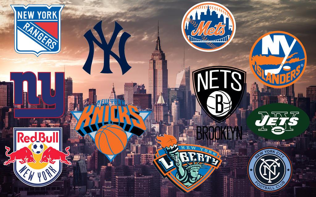 New York Sports Teams Wallpaper By Jm2255