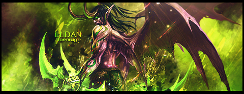 Illidan Stormrage Signature by HolyMollyCow