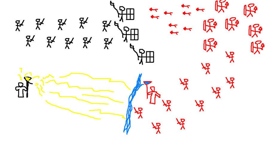 скачать игру Stickman War - фото 4