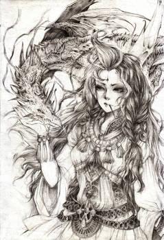 Hestia-Goddess of the hearth