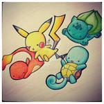 Pokemon chibis