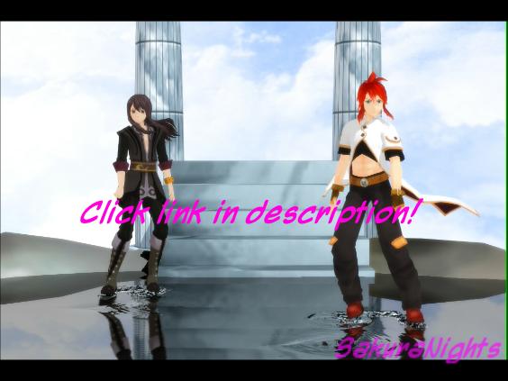 [MMD] Tales of Circus (Yuri and Luke) by SakuraNights
